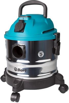 Строительный пылесос Bort BSS-1015 98297041 пылесос промышленный bort bss 1015