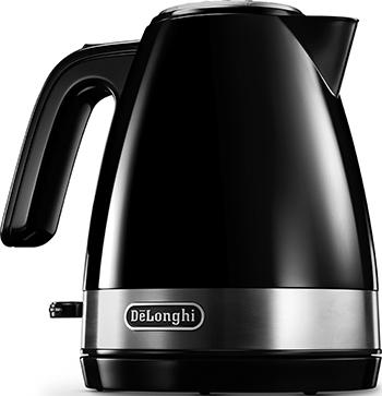Чайник электрический DeLonghi KBLA 2000.BK чайник delonghi kbov2001 bk