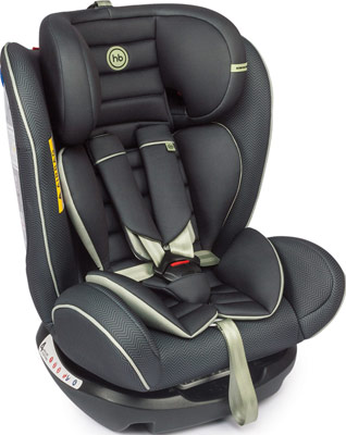 Автокресло Happy Baby ''SPECTOR'' BLACK 4690624020902 happy baby happy baby автокресло passenger v2 brown коричневое