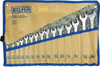 Набор комбинированных ключей HELFER HF 002301 набор инструментов разного назначения helfer hf 000011