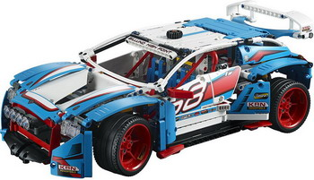 Конструктор Lego Technic: Гоночный автомобиль 42077 dhl lepin 20077 technic series the rally car model set compatible 42077 building blocks bricks children educational classic toys