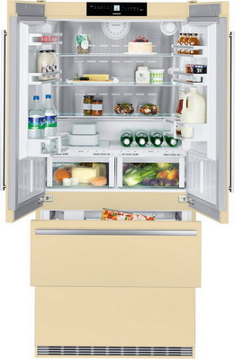 Многокамерный холодильник Liebherr CBNbe 6256-22 многокамерный холодильник hitachi r sf 48 gu t светло бежевый