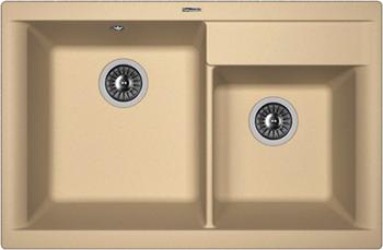 Кухонная мойка Florentina Касси 780 780х510 капучино FG кухонная мойка florentina касси 780 780х510 антрацит fsm