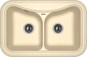 Кухонная мойка Florentina Крит-780 А 780х510 шампань FS цена