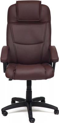 Офисное кресло Tetchair BERGAMO (кож/зам Коричневый PU C 36-36) кресло tetchair runner кож зам ткань черный жёлтый 36 6 tw27 tw 12
