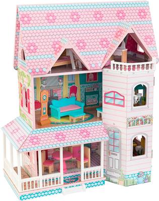 Кукольный дом KidKraft ''Особняк Эбби'' 65941_KE кукольный домик kidkraft особняк эбби