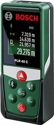 Дальномер лазерный Bosch PLR 40 С (0603672320) дальномер bosch plr 50 c 50 м 603672220