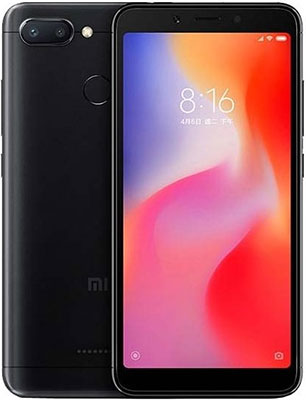 Смартфон Xiaomi Redmi 6 4/64 Gb черный redmi 6 4 64 blue