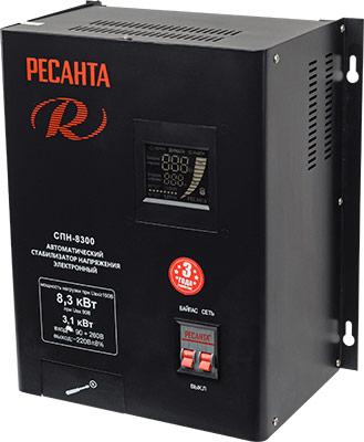 все цены на Стабилизатор напряжения Ресанта СПН-8300