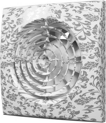 Вентилятор вытяжной с обратным клапаном DiCiTi AURA 4C white design все цены