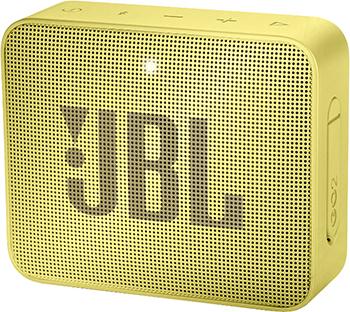 Фото - Портативная акустическая система JBL GO2 желтый JBLGO2YEL портативная колонка jbl clip 2 teal