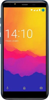 Смартфон Prestigio Muze E5 LTE синий смартфон prestigio muze e5 lte черный
