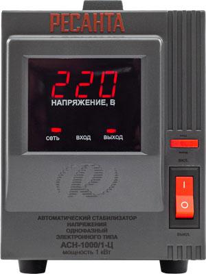 Стабилизатор напряжения и сетевой фильтр Ресанта АСН-1000/1-Ц