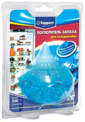 Поглотитель запаха Topperr 3109 поглотитель запаха greenfield д холодильников 2шт