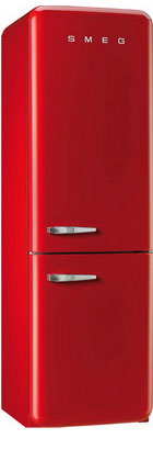 Двухкамерный холодильник Smeg FAB 32 RRN1 двухкамерный холодильник smeg fab 32 razn1