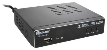 Цифровой телевизионный ресивер D-Color DC 1501 HD цифровой телевизионный ресивер d color dc 1301 hd