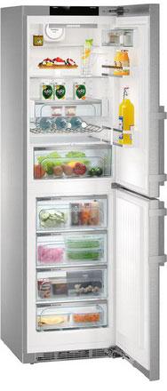 Двухкамерный холодильник Liebherr CNPes 4758 двухкамерный холодильник liebherr ctp 2521