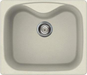 Кухонная мойка Elleci FOX 200  granitek (62) Bianco Antico LGF 20062