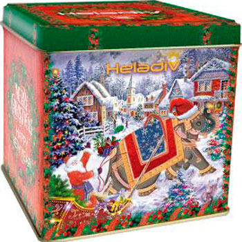Чай черный HELADIV WINTER ELEPHANT OPA TIN 250 gr