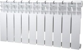 Водяной радиатор отопления SIRA Omega 80 H.350-08 алюминиевый радиатор sira omega as 500 6 секций