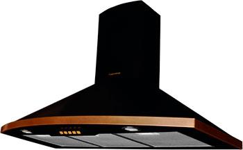 Вытяжка купольная Kuppersberg Bona 90 B Bronze вытяжка каминная kuppersberg bona 60 b bronze антрацит управление кнопочное 1 мотор