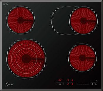 Встраиваемая электрическая варочная панель Midea MCH 64767 F mystery mch 1025