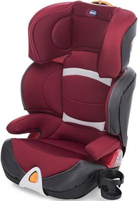 Автокресло Chicco OASYS 2-3 RED PASSION (Группа 2/3) 07079158640000 chicco chicco автокресло oasys fixplus группа 2 3 grey