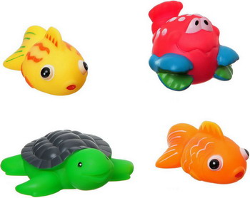 Набор игрушек для купания Bondibon ВВ1397 roberto verino vv tropic