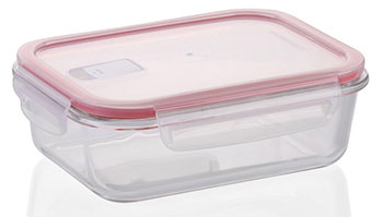 Контейнер Tescoma FRESHBOX Glass 0 6 л прямоугольный 892171 контейнер tescoma freshbox квадратный 400 мл