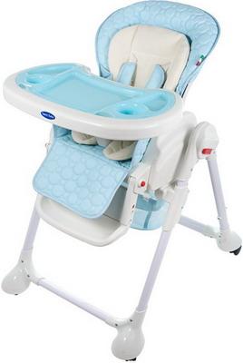 Стульчик для кормления Sweet Baby Luxor Classic Blu стульчик для кормления sweet baby simple orange 388 133