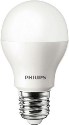 Лампа Philips LEDBulb 6.5-60 W E 27 6500 K 230 VA 60/PF лампа philips ledbulb 4 40 w e 27 3000 k 230 v p 45