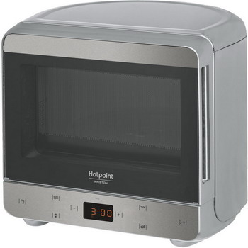 Микроволновая печь - СВЧ Hotpoint-Ariston MWHA 1332 X серебро печь свч hotpoint ariston mwha 2011 mw1 соло 20л мех бел черн