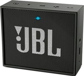 Портативная акустическая система JBL JBLGOBLK динамик jbl портативная акустическая система jbl flip 4 цвет squad