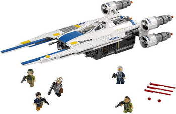 Конструктор Lego STAR WARS Истребитель повстанцев U-Wing 75155 05065 genuine star wars y wing starfighter lepin building blocks bricks educational toys gift compatiable with lego kid gift set