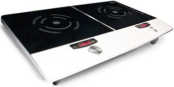 Настольная плита Ginzzu HCI-226 ginzzu hci 407 black панель варочная индукционная встраиваемая
