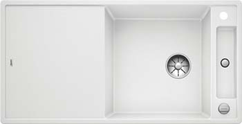 Кухонная мойка BLANCO AXIA III XL 6 S-F InFino Silgranit белый ( доска стекло) 523529 мойка axia ii 6 s f rock grey 518834 blanco