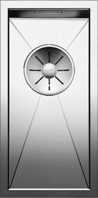 Кухонная мойка BLANCO ZEROX 180-IF нерж. сталь зеркальная полировка 521566 blanco elipso s ii нерж сталь зеркальная