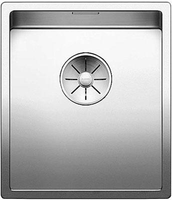 Кухонная мойка BLANCO CLARON 340-IF нерж. сталь зеркальная полировка 521570 blanco claron 500 u нерж сталь зеркальная