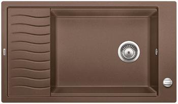 Кухонная мойка BLANCO ELON XL 8 S мускат с кл. 521865 мойка кухонная blanco elon xl 6 s шампань с клапаном автоматом 518741
