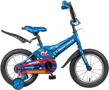 Велосипед Novatrack 14'' FLIGHTLINE синий 145 FLIGHTLINE.BL7 велосипед haro flightline 20 2014