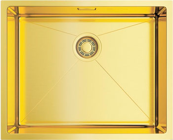 Кухонная мойка OMOIKIRI Taki 54-U/IF-LG нерж. сталь/светлое золото 4973093 кухонная мойка omoikiri taki 38 u if lg 380х440 светлое золото 4973092