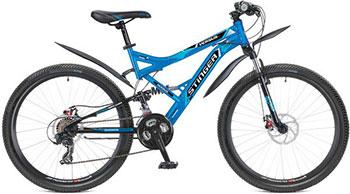Велосипед Stinger 26 SFD.VERSUD.16 BL5 26'' Versus D 16''  синий велосипед stinger valencia 2017