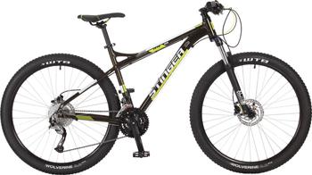 Велосипед Stinger 27.5'' Zeta HD 16'' черный 27 AHD.ZETAHD.16 BK7 велосипед stinger zeta d 27 5 2017