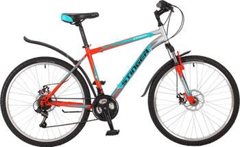 Велосипед Stinger 26'' Caiman D 20'' оранжевый 26 SHD.CAIMD.20 OR7 велосипед challenger enduro lux fs 26 d серо оранжевый 18