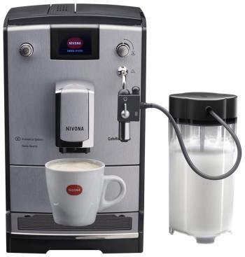 Кофемашина автоматическая Nivona NICR 670 серебро/черный кофемашина автоматическая nivona nicr 660 черная
