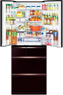 Многокамерный холодильник Mitsubishi Electric MR-WXR 627 Z-BR-R холодильник mitsubishi mr lr78g st r