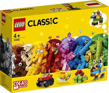 Конструктор Lego Базовый набор кубиков 11002 Classic базовый набор lego wedo 9580 7