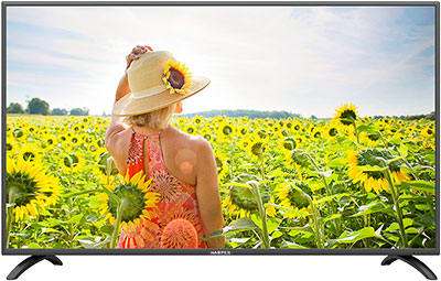 LED телевизор Harper 40 F 660 TS черный cameo ts 40 ww led theater spot