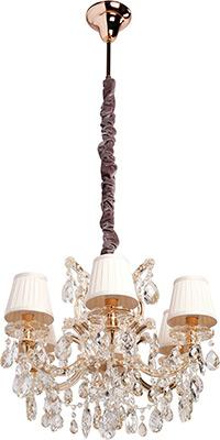 Купить Люстра подвесная CHIARO, Даниэль 479010506 6*60 W Е14 220 V, Китай