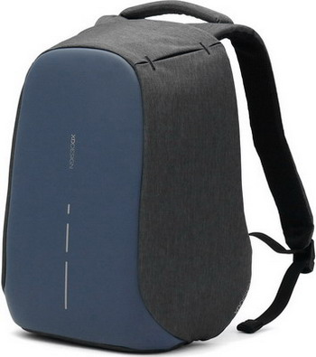 Рюкзак XD Design Bobby Compact P 705.535 темно-серый/синий рюкзак xd design bobby compact для ноутбука 14 серо розовый